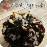 Yes, I cheated a tad on these delcious almond joy cupcakes! So easy!