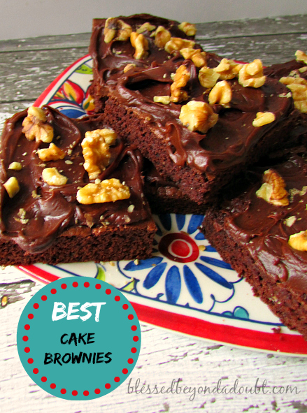 best cake brownies