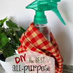The Best DIY Homemade All Purpose Cleaner Recipe!