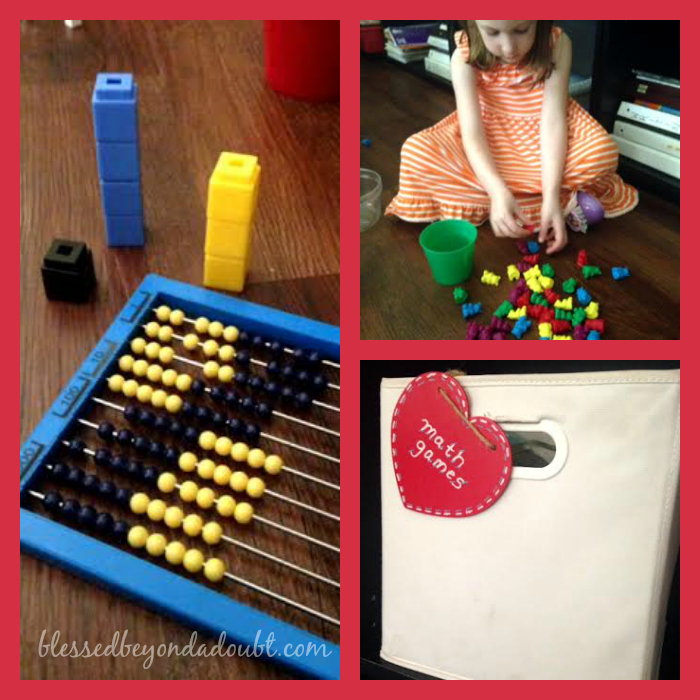 math manipulatives activities