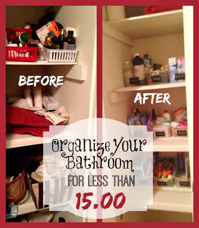 Inexpensive bathroom organization tips takes less than for Bathroom organization ideas