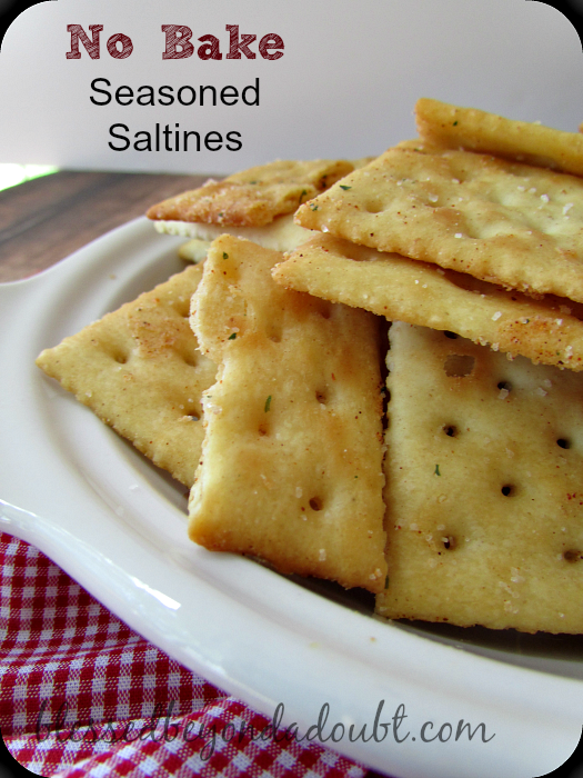 seasoned saltine crackers