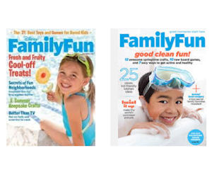 Enjoy a Free 1 Year Subscription to Family Fun Magazine