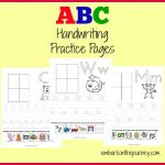 FREE ABC-Handwriting-Pages