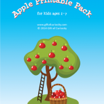 FREE Apple-Printable-Pack for ages 2-7!