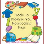 Learn the Tools to Organize Your Notebooking Page!