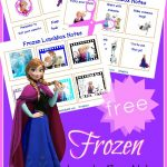 Super FUN Frozen lunch box notes! They're FREE!