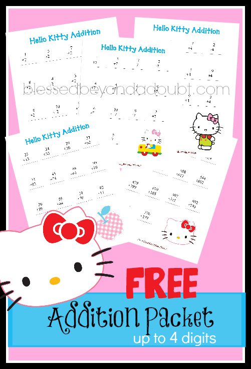 FREE Hello Kitty addition packet!
