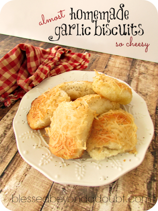 homemade garlic cheese biscuits
