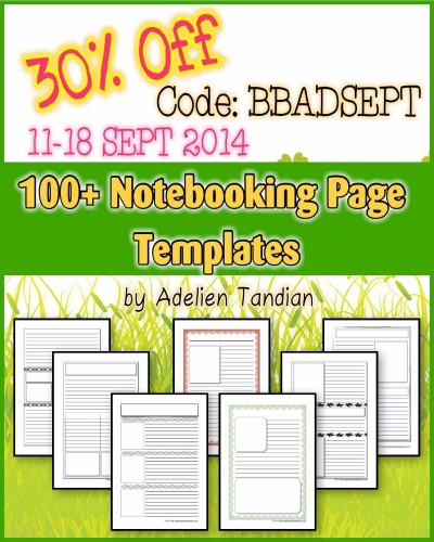100+ Notebooking Page Templates 30 OFF