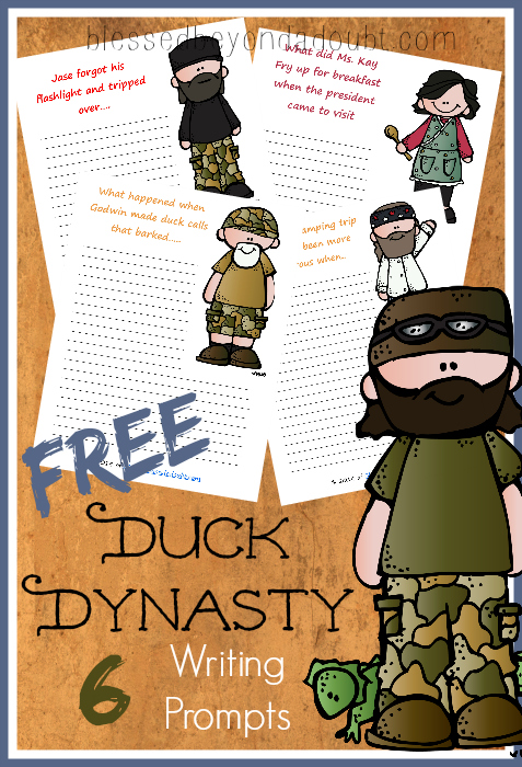 free duck dynasty printables