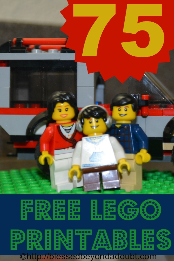 75 Free LEGO® Printables For LEGO Learning – WOW!