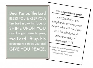 Serve Your Pastor as a Family! (Free Printables)