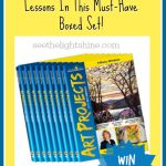 WIN a Full Year Art Curriculum! art projects giveaway