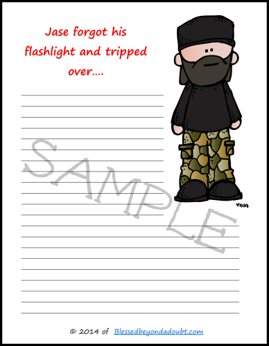 picture of free duck dynasty printables
