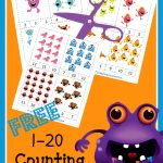 baby monster counting cards
