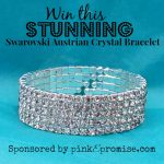 Hurry and enter this pinke promise giveaway! A perfect Christmas present for someone or for yourself.