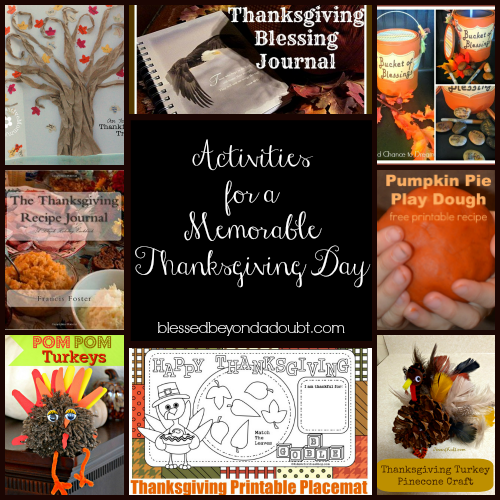 Fun Activities for a Memorable Thanksgiving Day