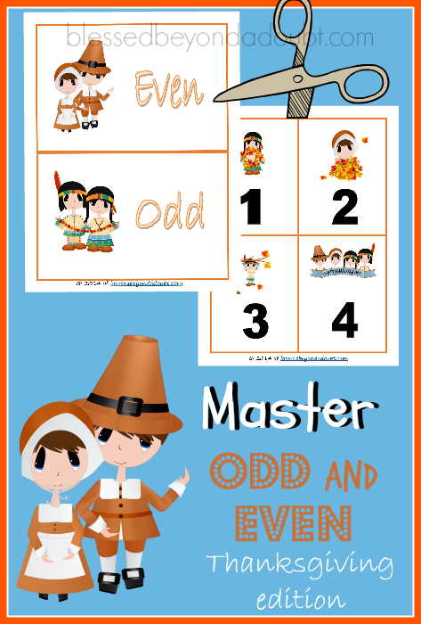 odd and even numbers with