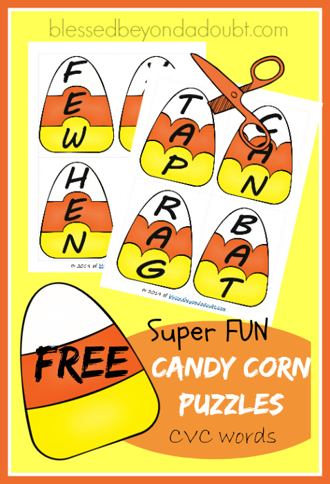 candy corn puzzles