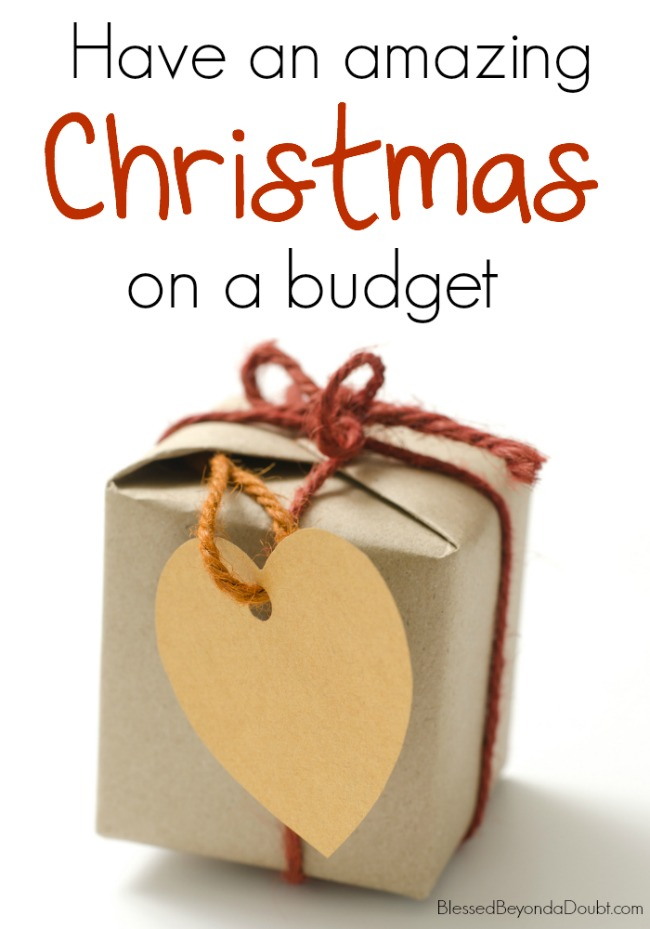 Have an amazing Christmas on a budget.