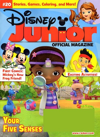Disney Junior Magazine- $13.99/1 year!