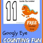 A super FUN way to practice number recognition and counting. These baby monsters are so cute and are nothing scary.