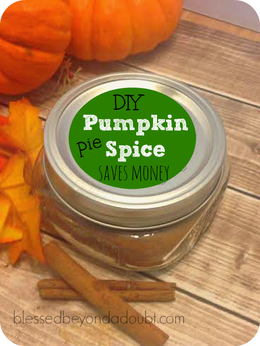 Make Pumpkin Pie Spice!