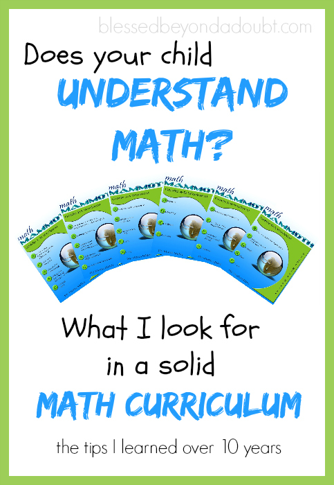 math curriculum homeschool