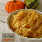 recipe pumpkin rice