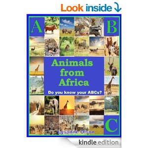 ABC Animals from Africa