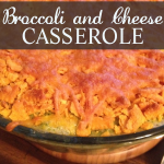 The best Broccoli-and-Cheese-Casserole. It's a family tradition around the holidays.