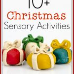 These 10 Christmas Sensory Activities are a great way to expose your child to the scents, sounds and experiences of the season without them getting overwhelmed!