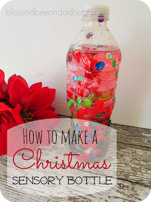 How to Make a Christmas Sensory Bottle