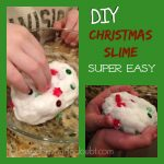 Oh my! You have to try this sensory Christmas Slime!