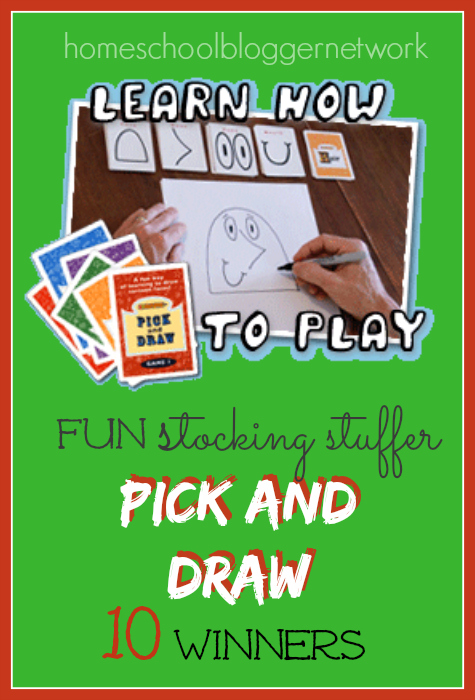 Hurry and win the perfect stocking stuffer! Pick N Draw is FUN for the whole family! We are looking for 10 winners!