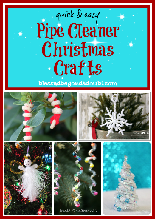pipe cleaner christmas crafts - Pipe Cleaner Christmas Tree