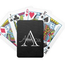 Another perfect gift! Personalized Play Cards!