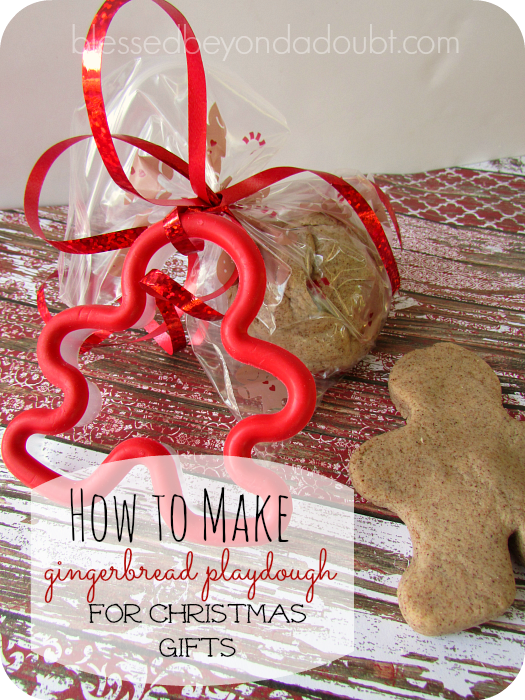 playdough gingerbread