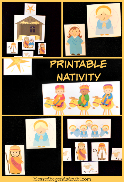 FREE Hands-On Nativity Story