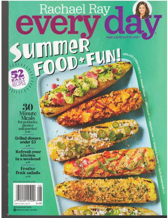Rachel Ray Magazine $3.69/1year!