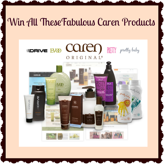 HUGE Caren Product Giveaway! It makes a great Christmas present!