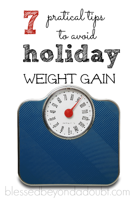 These practical weight loss tips will help you avoid the average 5 lbs during the holiday.