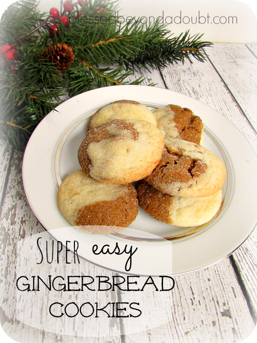 Gingerbread Cookies Recipe|Easy Peasy