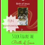 AWESOME Grapevine Studies Giveaway! Stick Figure the birth of Jesus! FUN for all ages.