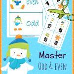 FREE Printable to help master Odd and Even Numbers!