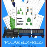 FREE Polar Express Preschool Pack
