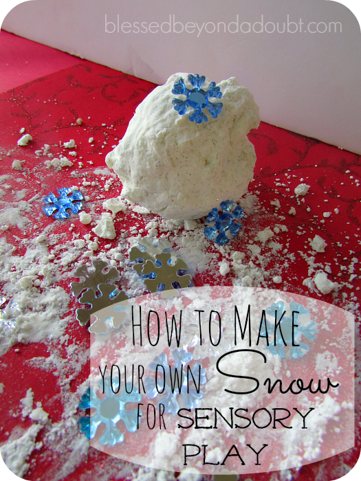 how to make snow recipe