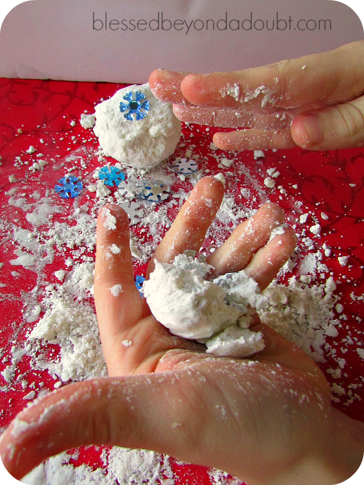 How to Make Snow Recipe – It's So SOFT!
