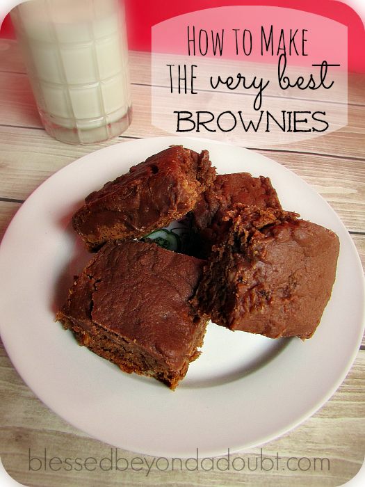 rich chocolate brownies recipe